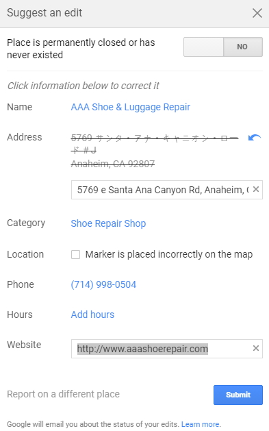 AAA Shoe & Luggage Repairs 21
