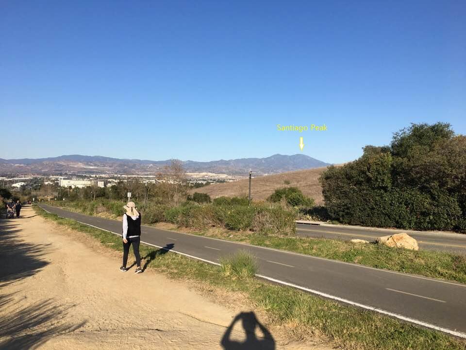 quail hill Santiago Peak